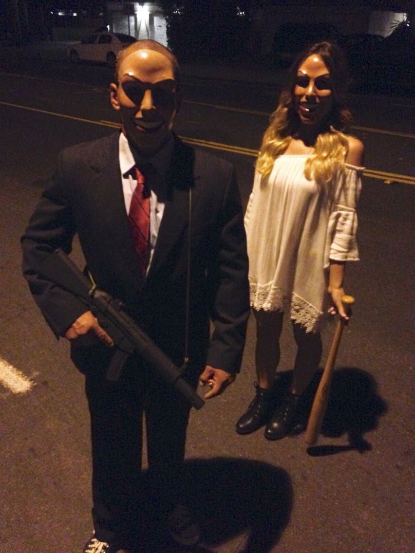 the purge couples costume | Halloween costumes | Pinterest ...