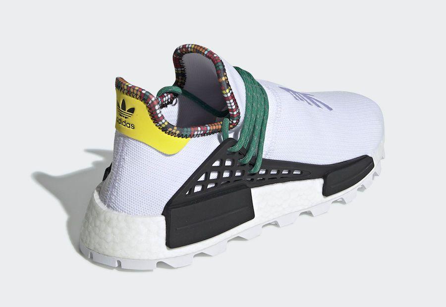 Pharrell adidas NMD Hu White EE7583