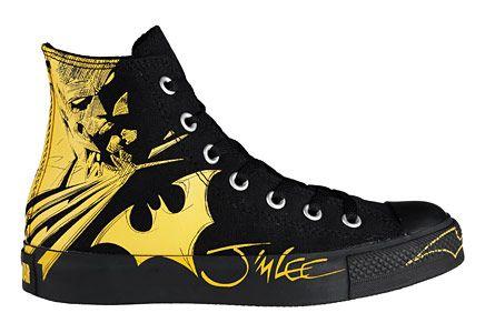 Vintage Batman Converse All Star Chuck Taylor Hi Top