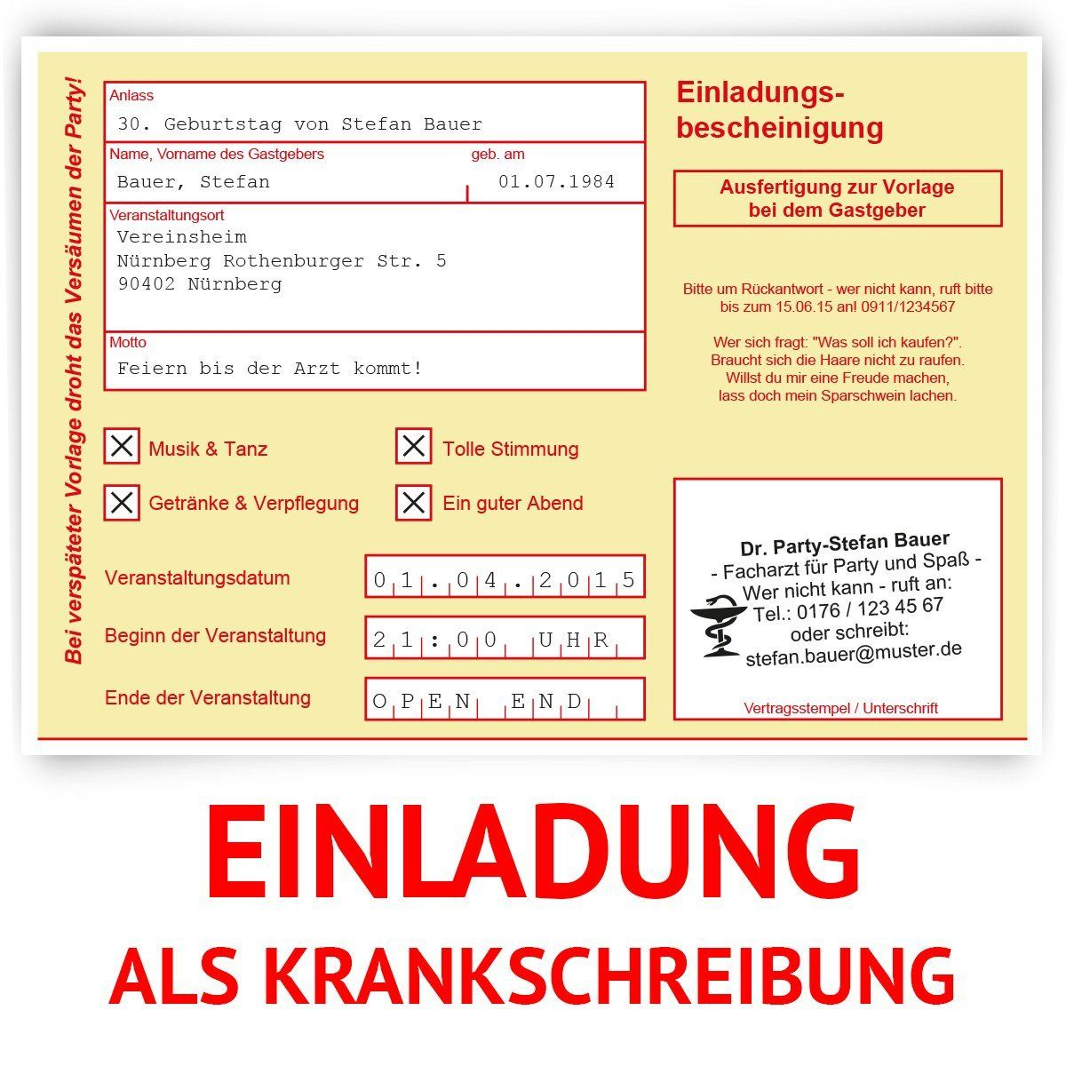 http://www.amazon.de/gp/product/b00hodkzbu?keywords=einladungen, Einladung