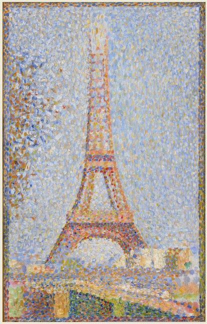 Honestly, Seurat's painting of the Eiffel Tower and surrounding Paris captures the beauty better than any photographer ever could.
