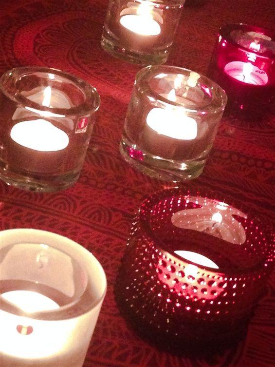 Iittala candles and Christmas time, Finland