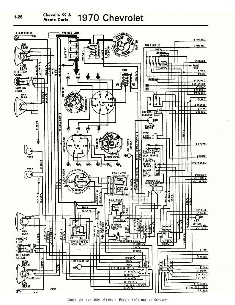 67 Chevelle Wiring Diagram Free Picture Schematic