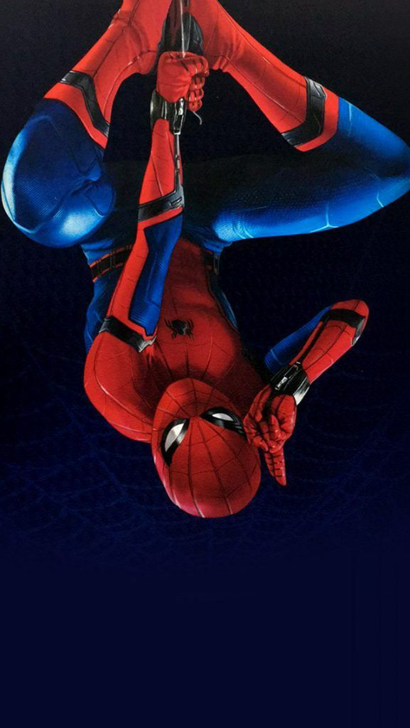 iPhone X Wallpaper Screensaver Background 156 Spiderman 4k