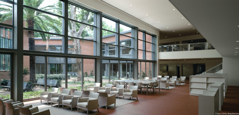 Biblioteca infanta elena sevilla design interior luz for Diseno de interiores sevilla
