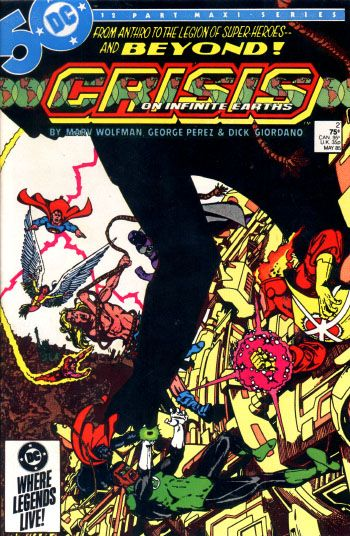 Crisis on Infinite Earths 2 Cover by George Pérez.