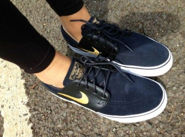 shoes nike sneakers black gold girls womens nike womens  b41859444