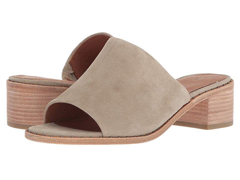 FRYE Women/'s Cindy Mule Heeled Sandal