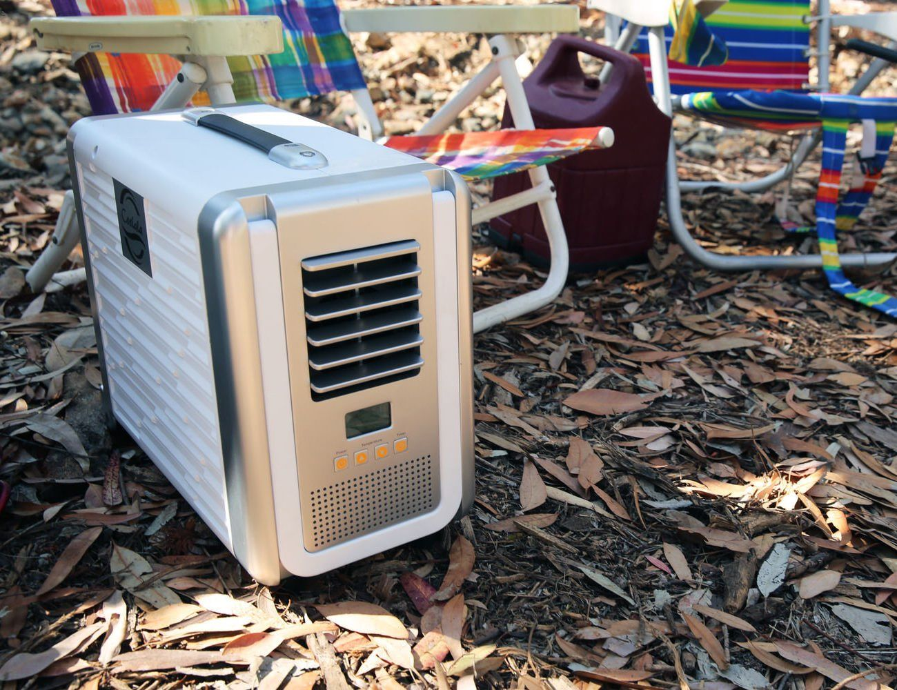 Coolala SolarPowered Portable Air Conditioner Camping