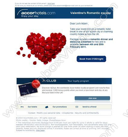 Company Accor Hotels Hq Subject Valentine S Package From Gbp100 Inboxvision Is A Global Database And Email Gallery Of 1 5 Million B2c B2b