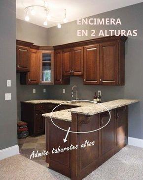 La altura de las barras de cocina determina el tipo de - Altura barra cocina ...