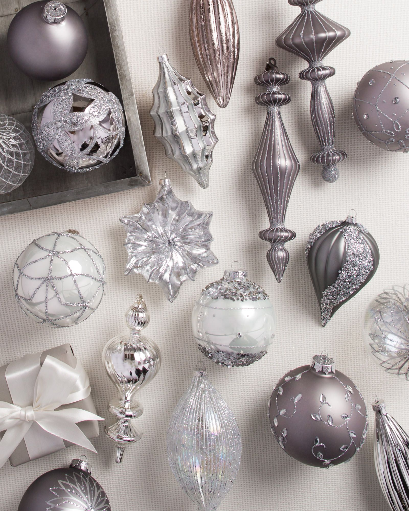Set Of 35 Crystal Palace Glass Ornaments - Balsam Hill