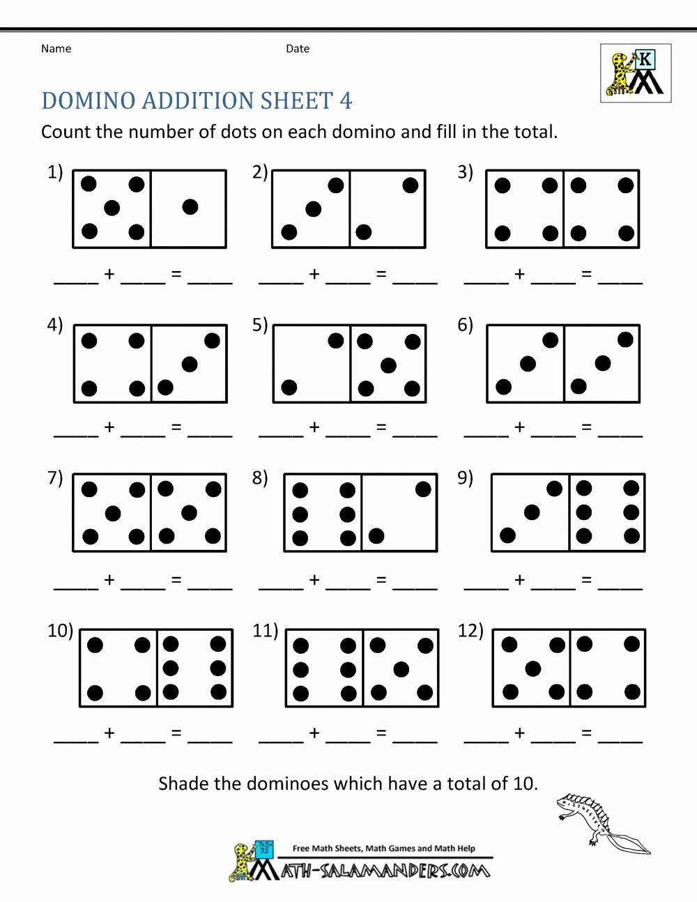 Basic Addition Worksheet Preschooladdition basic  ...