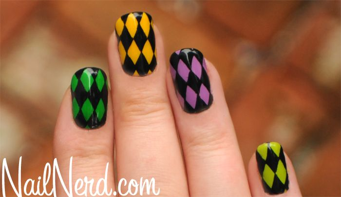 1000+ Images About Nails - Mardi Gras On Pinterest | Trophy Wife