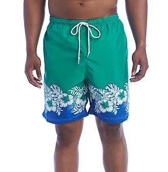 Chaps® Men's Big & Tall Swim Trunks