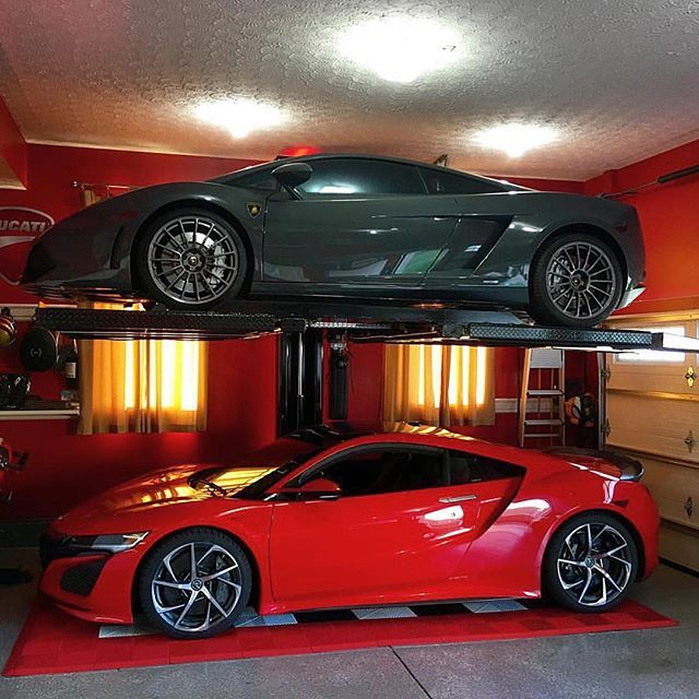 Nice Garage Gallardo & The New Acura NSX 💀🔥