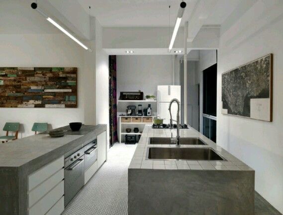 Awesome Cement Screed Kitchen