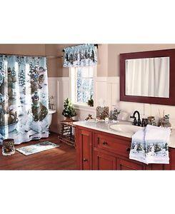 Winter Fun Bathroom Collection Set