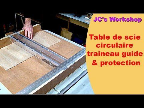 Table De Scie Circulaire Traineau Et Rails Guide Protection Travail Du Bois 42 Youtube Scie Circulaire Table Scie Circulaire Travail Du Bois