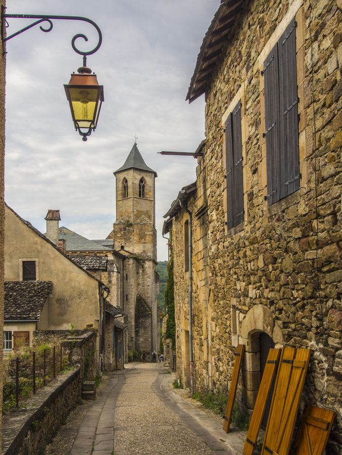 The Streets Of Najac France