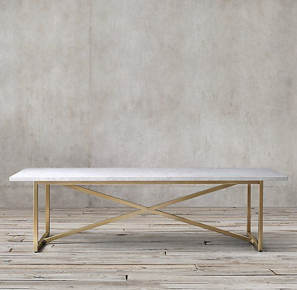 Torano Marble Rectangular Dining Table 72x38 Multiple