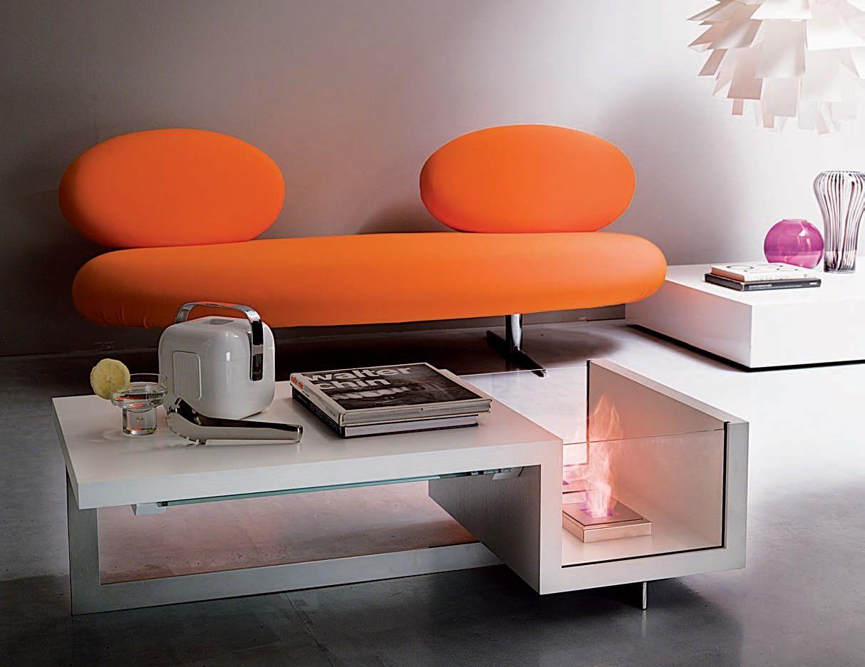 Ozzio Design Calls This Collection Of Contemporary Fireplaces Collezione Biocamini Coffee Table Living Room Coffee Table Living Room With Fireplace [ 936 x 1214 Pixel ]