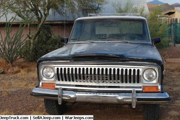 Jeep Trucks For Sale And Jeep Truck Parts 1975 Cherokee Chief