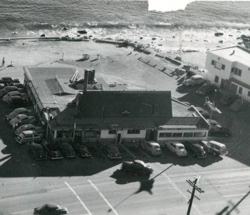 e8b6cb7e7797 Malibu Sea Lion restaurant on PCH, late 1940s :: Malibu Historical  Photograph Collection
