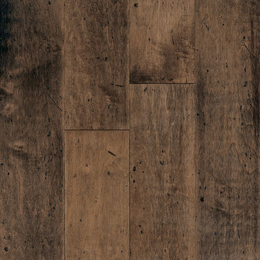 Maple Hardwood Flooring Dark Brown Er7565 201 Le