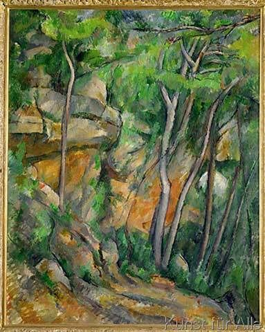 Paul Cézanne - Cezanne / Park of Chateau Noir / 1900