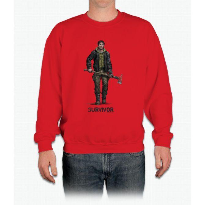 Survivor Character - For Gamers, Movie Fans Bee Movie Crewneck Sweatshirt