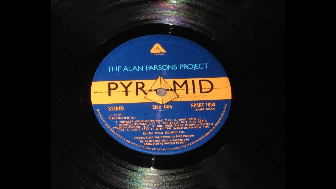 The Alan Parsons Project Piramyd Orig Full Vinyl 1978 Alan Parsons Project Alan Parsons Parsons