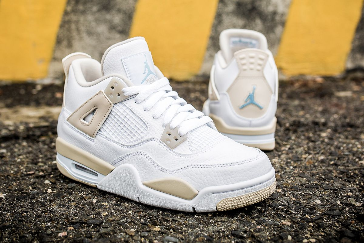 47daa73734c Air Jordan 4 Retro GG 'Linen' (Detailed Pictures) - EU Kicks: Sneaker  Magazine