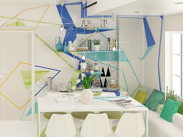 Life In Expressionism Decoholic House Interior Inspired Homes Home