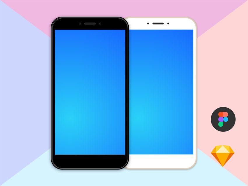 Xiaomi Free Clean Mockup Free Figma And Sketch Freebiesui Free Mockup Figma Mobile App Android