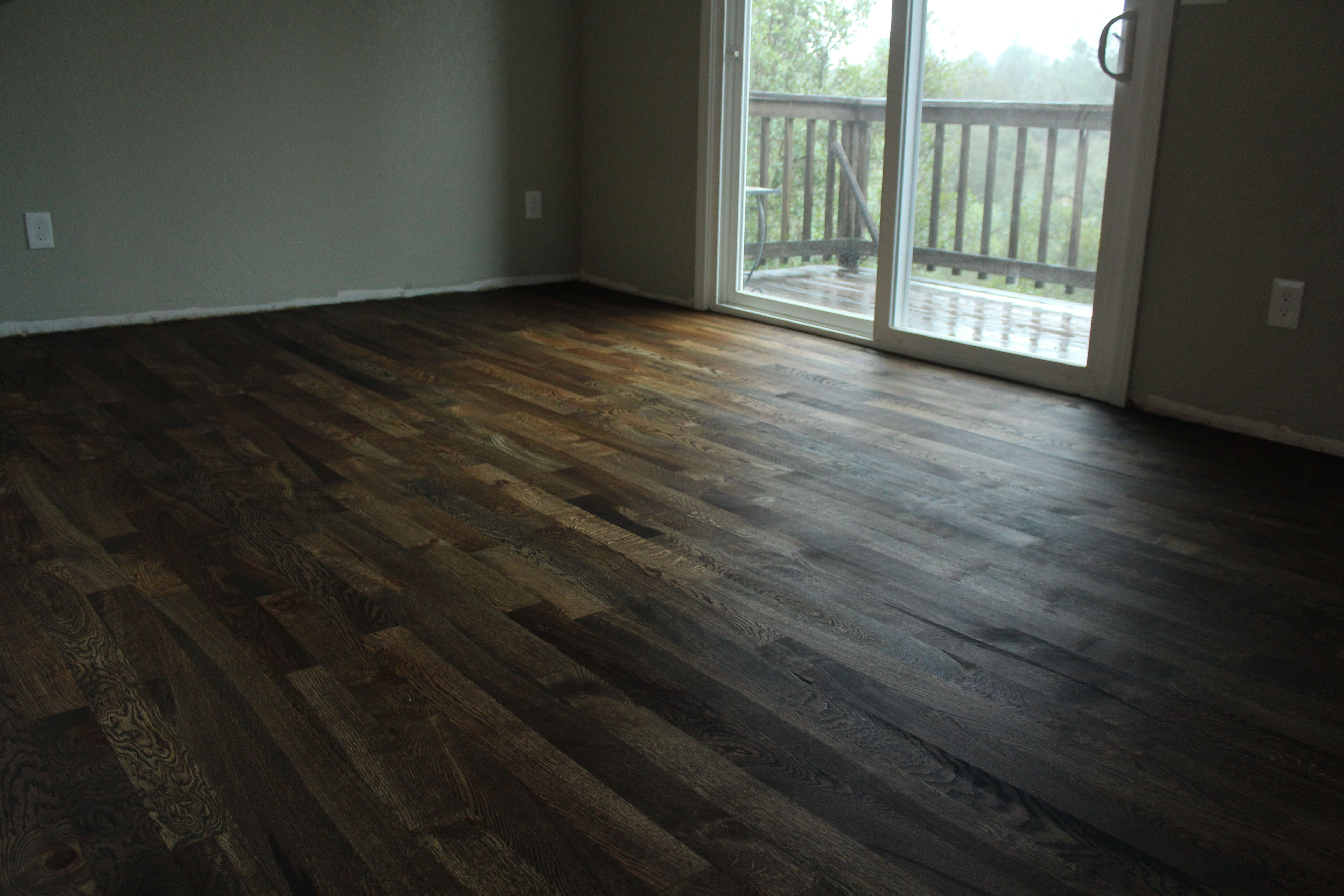 3 1 4 2 Common White Oak Floor In Auburn Ca Color Is Loba