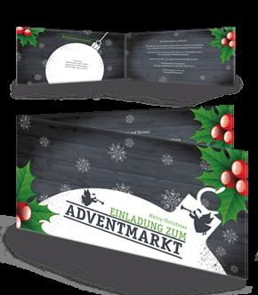 Einladungen mit Falz Seite in der Farbe Grau jetzt online günstig