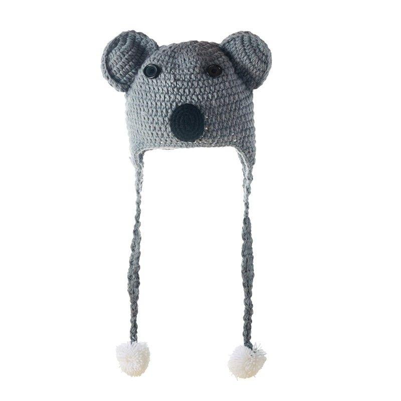 Kuddle E Koala Beanie Cap Roblox Knitted Hat Handmade For Kids Knitted Hats Handmade For Kids Knitted