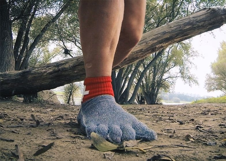 Glove-like socks are made from material stronger than Kevlar