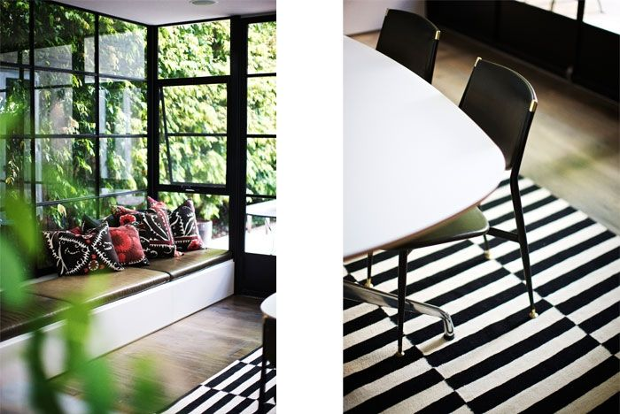 black and white, stripes, patterns - Kitchen accents