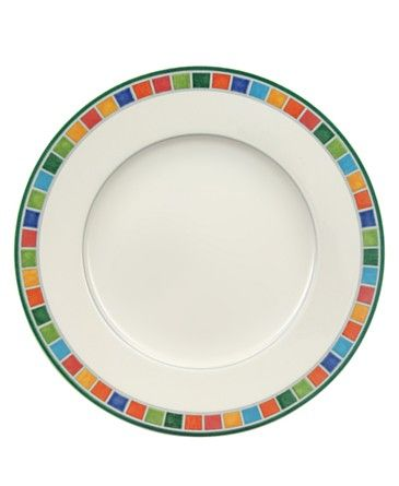 "Villeroy & Boch ""Twist Alea"" Salad Plate. This is the CARO pattern."