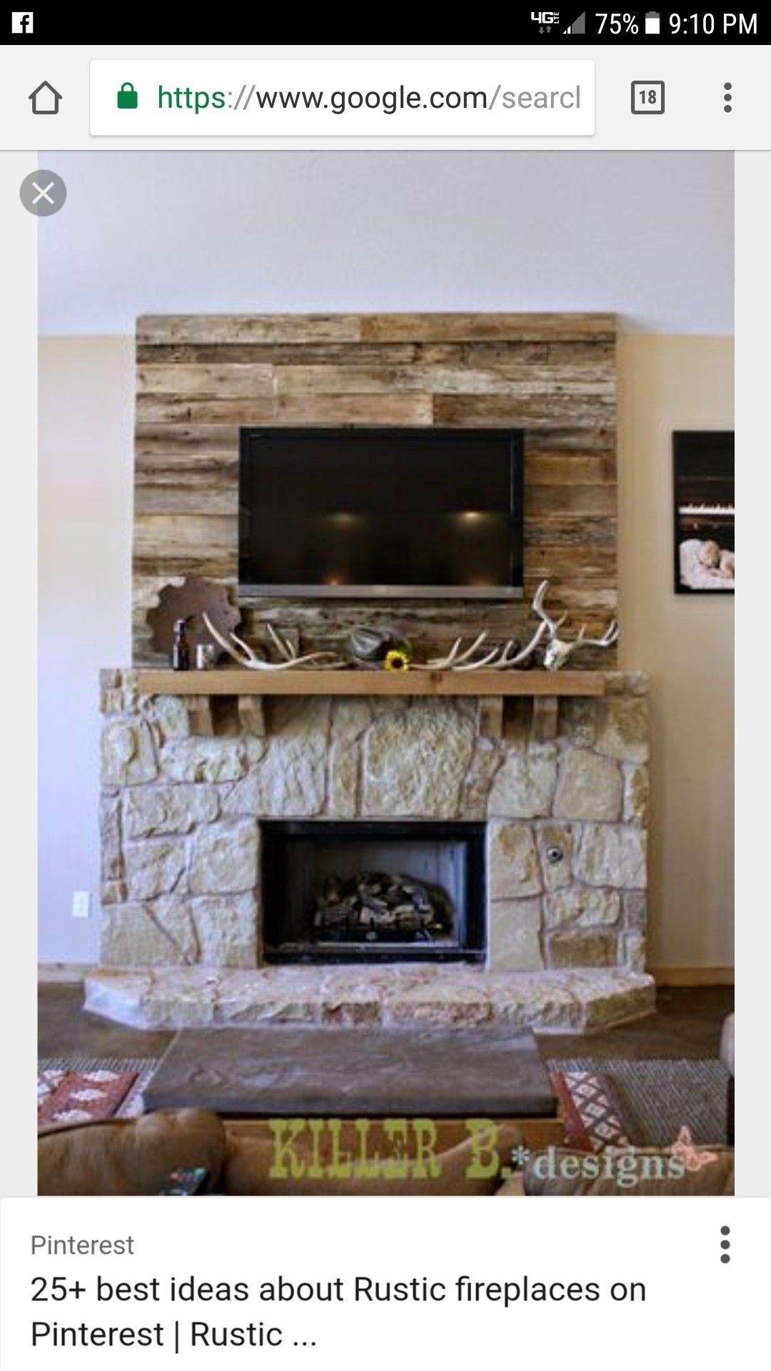 barn wood accent wall for the fireplace lets make a home