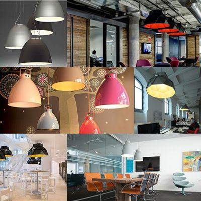 Iluminacion interior oficinas con dise o industrial for Diseno de iluminacion de interiores