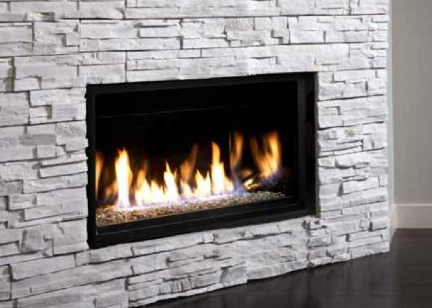 Kingsman Linear Gas Fireplace 36 Wide With Several Surround Options Gas Fireplaces Modern