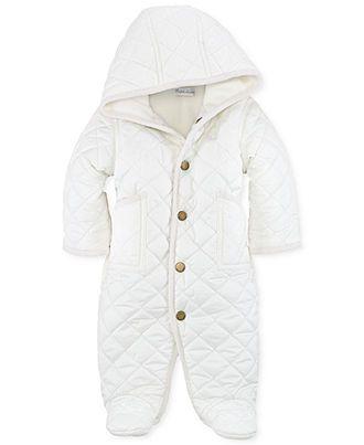 24e75ded3 Ralph Lauren Baby Bunting, Baby Boys Microfiber Bunting - Kids Baby Coats &  Jackets - Macy's