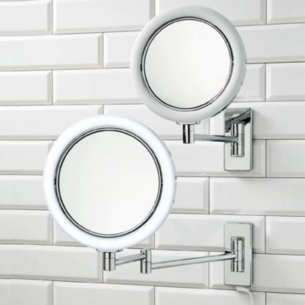 Bs 13 Led Wandkosmetikspiegel Beleuchtet Miroir Maquillage Mural Miroir Grossissant Miroir Design