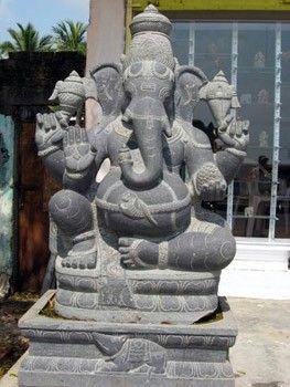 Ganesha Stone Statue In Mahabalipuram Stone Statues Ganesh Art Stone Art