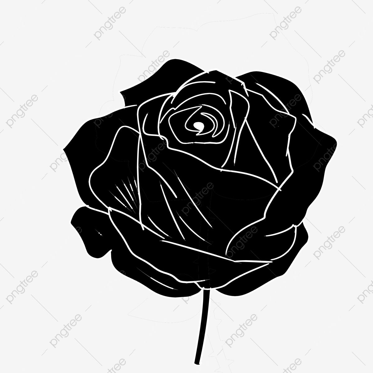 Flor Planta Rosa Negra Flor Negra Flor Png Y Psd Para Descargar Gratis Pngtree Rosa Negra Flor Ilustraciones Florales Dibujos