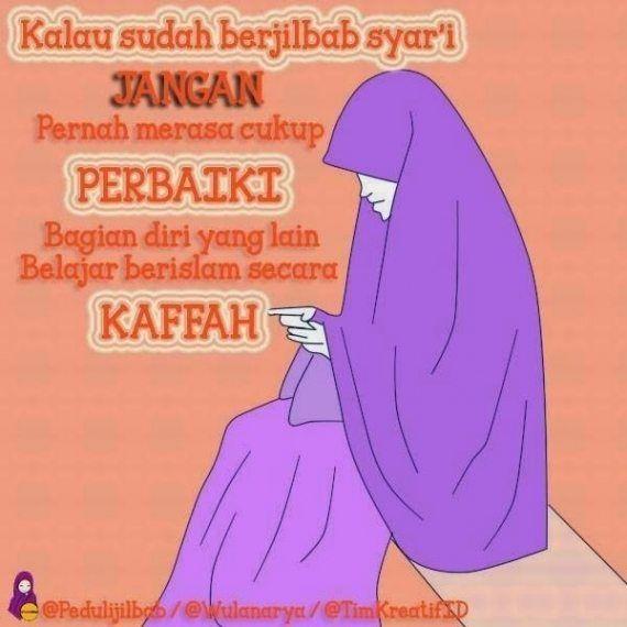 Gambar Dp Bbm Muslimah Nan Solekha Berhijab Syar U002639 I Gambar