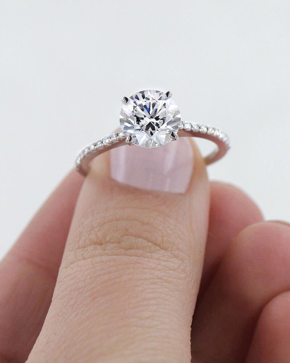 Idyllic Stackable Engagement Ring Traditional Engagement Rings
